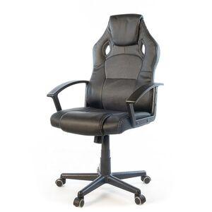 Кресло геймерское АКЛАС Анхель NEW PL TILT Чёрно-серый