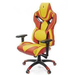 Кресло геймерское АКЛАС Эмбуш PL RL Красно-жёлтый