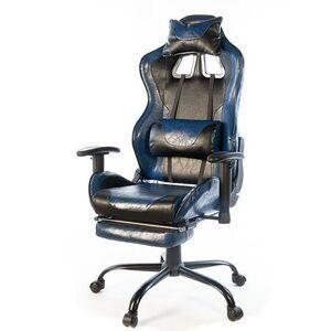 Кресло геймерское АКЛАС Хорнет FR PL RL Чёрно-синий