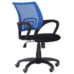 Кресло AMF Веб Сетка черная/спинка Сетка синяя