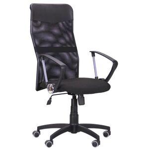 Кресло AMF Ultra сиденье А-1/спинка Сетка черная, вставка Скаден черный