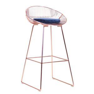 Барный стул AMF Chik Rose gold