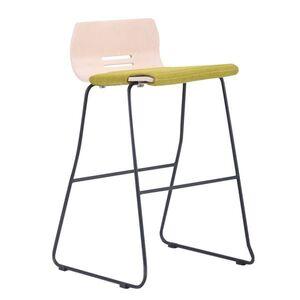 Барный стул AMF Мальта Хокер Софт Черный графит