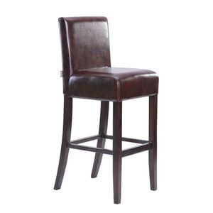 Барный стул AMF Танго Хокер венге Мадрас дк браун