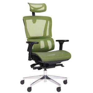 Кресло АМФ Agile Black Alum Green