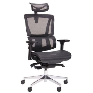 Кресло АМФ Agile Black Alum Black