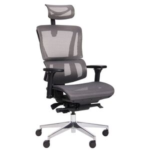 Кресло АМФ Agile Black Alum Grey