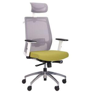 Кресло АМФ Install White Alum Grey/Green
