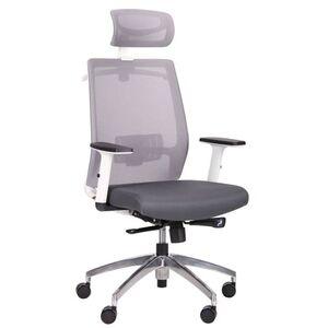 Кресло АМФ Install White Alum Grey/Grey