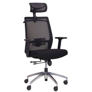 Кресло АМФ Install Black Alum Black/Black