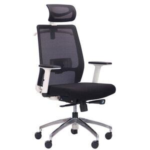 Кресло АМФ Install White Alum Black/Black
