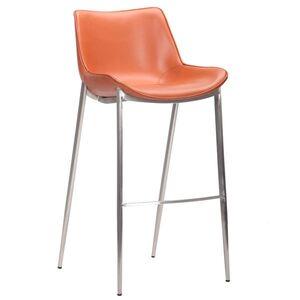 Барный стул AMF Blanc Caramel Leather