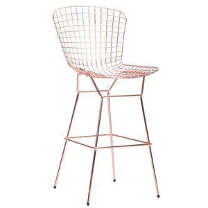 Барный стул AMF Todi Rose Gold