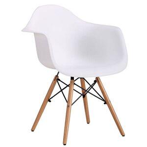 Кресло AMF Salex PL Wood Белый