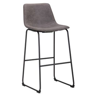 Барный стул AMF Colt Сowboy Серый