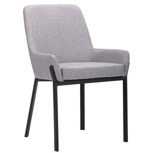 Кресло AMF Charlotte Черный-Серый