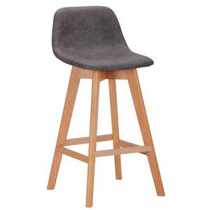 Барный стул AMF Timber cowboy Серый