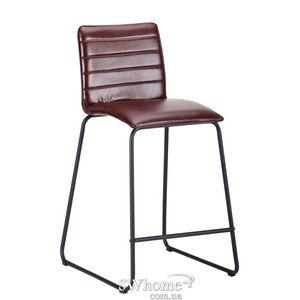 Барный стул AMF Doro Черный-браун