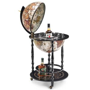 Глобус бар напольный Zoffoli Vulcano T.BAR42/E-BLK Италия