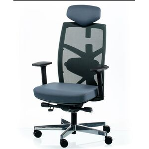 Кресло для персонала Special4You TUNE SLATEGREY/BLACK (E5494)