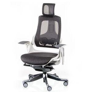 Кресло для персонала Special4You WAU CHARCOAL NETWORK (E0826)