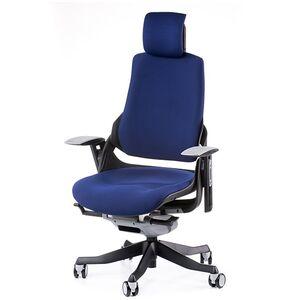 Кресло для персонала Special4You WAU NAVYBLUE FABRIC (E0765)