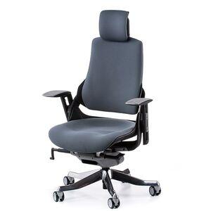 Кресло для персонала Special4You WAU SLATEGREY FABRIC (E0864)