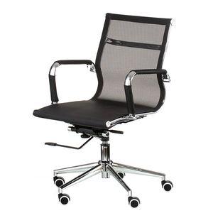 Кресло для персонала Special4You Solano 3 mesh black (E4848)