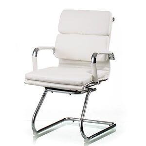 Кресло офисное Special4You Solano 3 office artleather white (E5913)