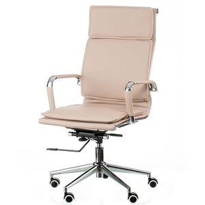Кресло для руководителя Special4You Solano 4 artleather beige (E5852)