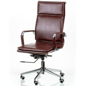 Кресло для руководителя Special4You Solano 4 artleather brown (E5227)