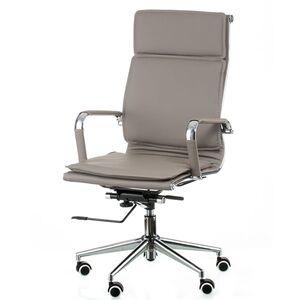 Кресло для руководителя Special4You Solano 4 artleather grey (E5845)