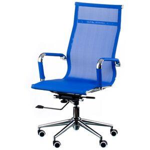 Кресло для персонала Special4You Solano mesh blue (E4916)