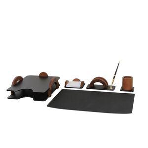 Набор настольный Bestar 5 предметов Орех 5257FDX