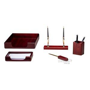 Набор настольный Bestar 5 предметов Красное дерево 5138WDM