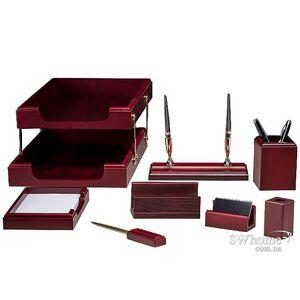 Набор настольный Bestar 8 предметов Красное дерево 8280WDM
