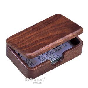 Контейнер для визиток деревянный Bestar 1315WDN Орех