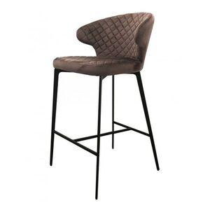 Полубарный стул Concepto Keen Велюр Шоколад