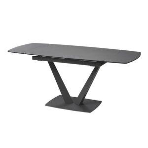 Стол раскладной обеденный Concepto Elvi Pure Grey Керамика