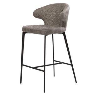 Барный стул Concepto Keen Шедоу грей Велюр