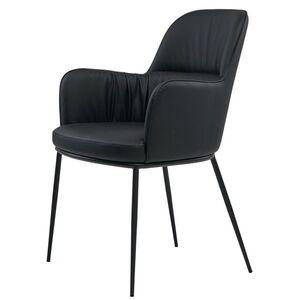 Кресло Concepto Sheldon Черный экокожа