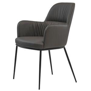 Кресло Concepto Sheldon Серый графит экокожа