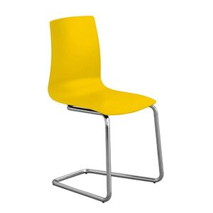 Стул GRANDSOLEIL Candy Mat C Legs Brilliant Yellow
