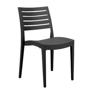 Стул GRANDSOLEIL Chair Firenze Anthracite