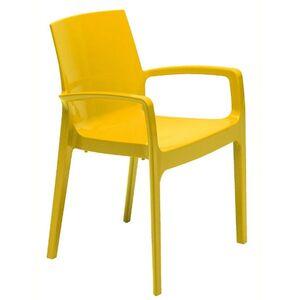 Стул GRANDSOLEIL Cream Glossy Yellow