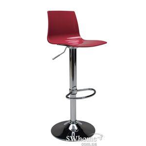 Барный стул с регулировкой GRANDSOLEIL Imola Красный