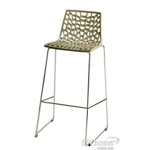 Барный стул GRANDSOLEIL Spider Серый