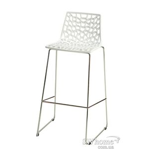 Барный стул GRANDSOLEIL Spider Белый