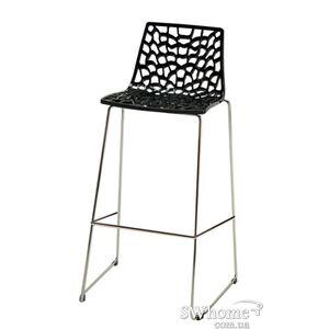 Барный стул GRANDSOLEIL Spider Черный
