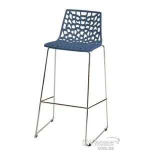 Барный стул GRANDSOLEIL Spider Синий